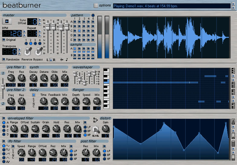 BeatBurner software synth
