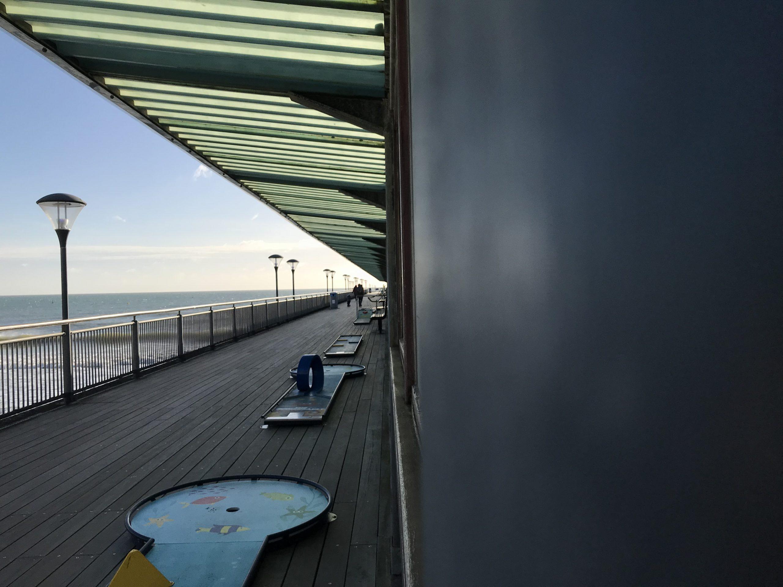 Boscombe pier golf