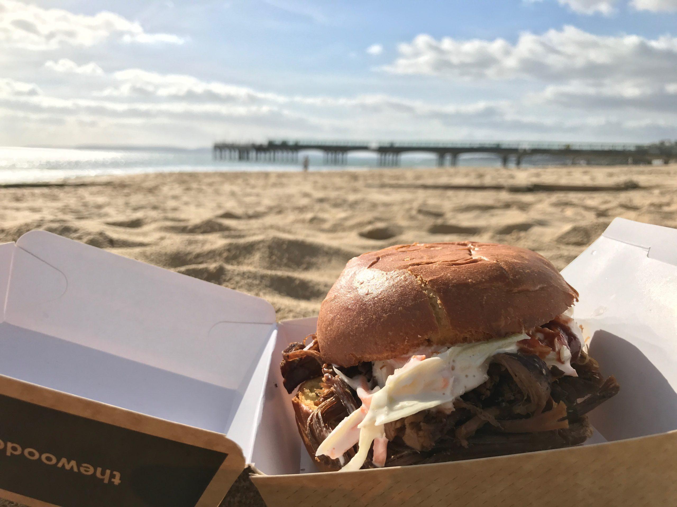 Boscombe beach food