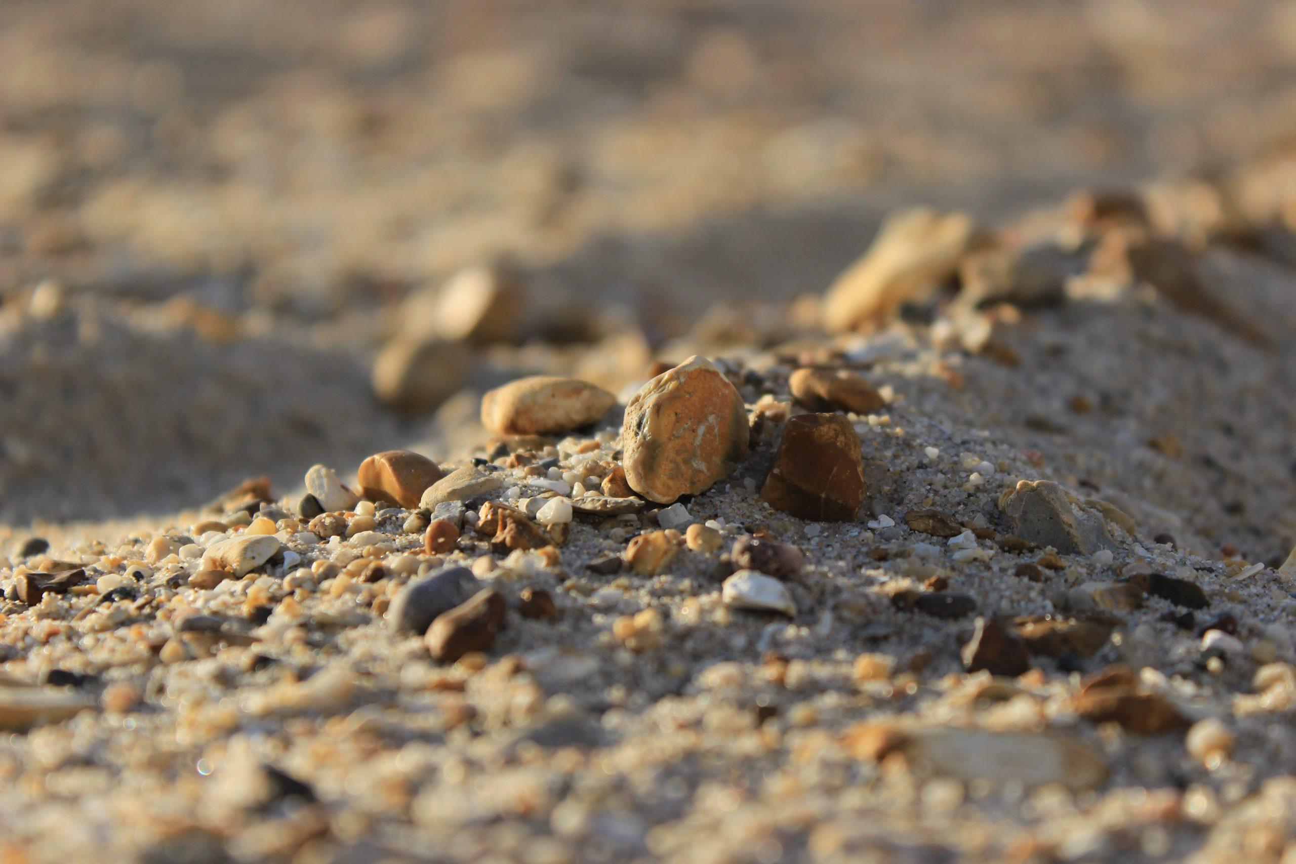 Boscombe beach sand