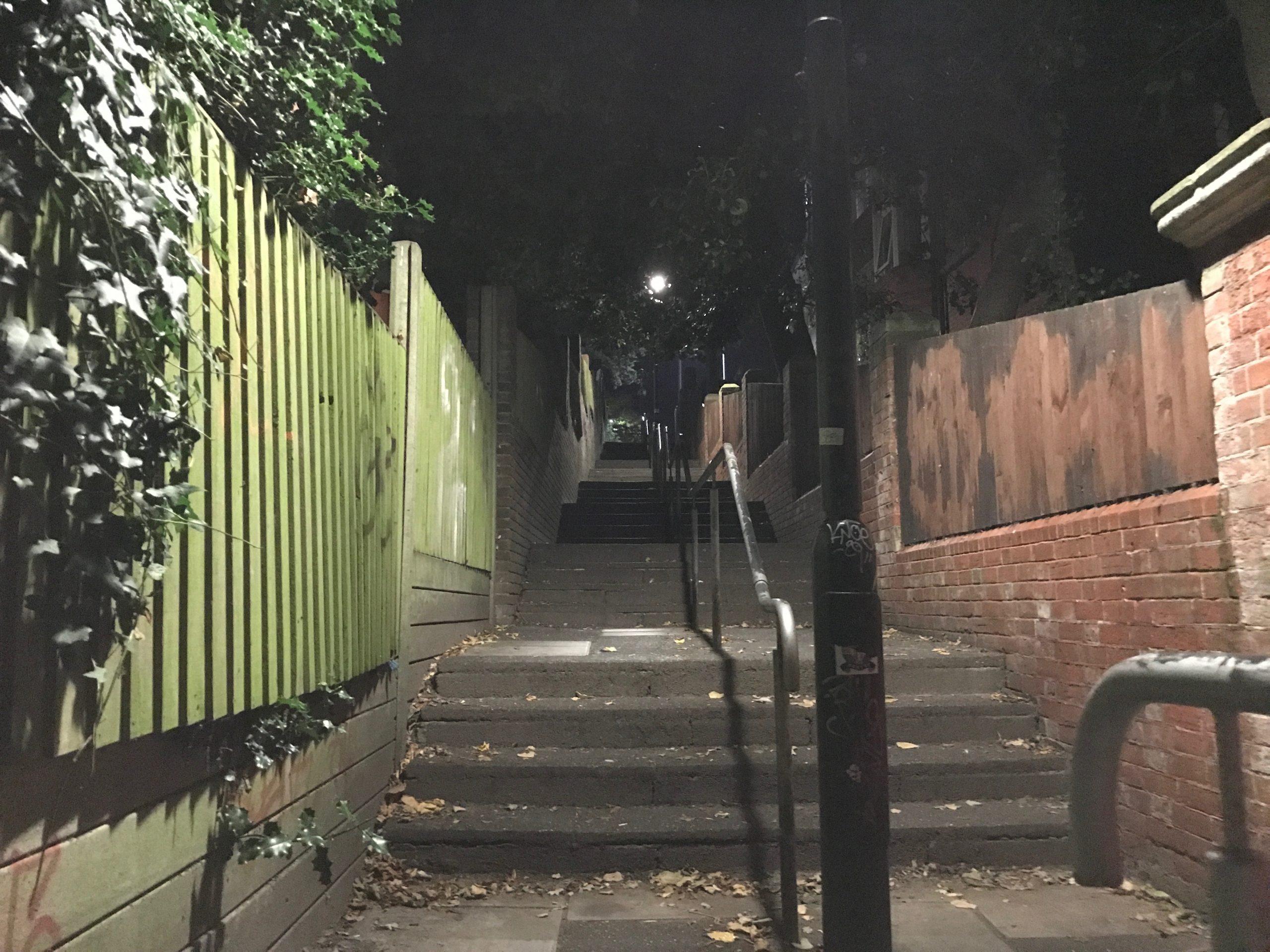 Boscombe Chine steps