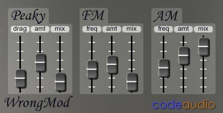 CodeAudio WrongMod VST
